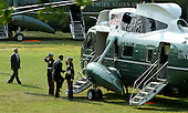 United States President Barack Obama boards Marine One after visiting with wounded service members at Walter Reed National Military Medical Center in Bethesda, Maryland, Thursday, June 28, 2012. .Credit: Chris Kleponis / Pool via CNP