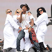 May 24, 2014: PHARRELL WILIAMS - BBC RADIO 1 BIG WEEKEND DAY 2 - Glasgow