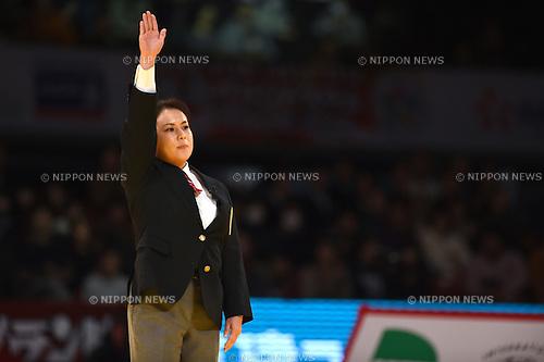 Referee, <br /> DECEMBER 6, 2014 - Judo : <br /> IJF Grand Slam Tokyo 2014 International Judo Tournament <br /> at Tokyo Metropolitan Gymnasium, Tokyo, Japan. <br /> (Photo by AFLO SPORT) [1220]