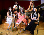 MIAMI, FL - MAY 01: (EXCLUSIVE COVERAGE) Normani Kordei, Lauren Jauregui, Ally Brooke Hernandez, Dinah Jane Hansen, Camila Cabello of Fifth Harmony poses for portrait on May 1, 2015 in Miami, Florida. ( Photo by Johnny Louis / jlnphotography.com )
