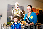 osteo-archaeologist Dr.  Linda Lynch  explore death in prehistoric Kerry at County Museum part of heritage week. Pictured with Shephen Bramley