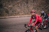 Tony Martin (GER/Katusha-Alpecin) in the grupetto up the Passo di Sant'Antonio<br /> <br /> stage 15: Tolmezzo – Sappada (176 km)<br /> 101th Giro d'Italia 2018