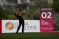 Haydn Porteous (RSA) on the 2nd during Round 1 of the Commercial Bank Qatar Masters 2020 at the Education City Golf Club, Doha, Qatar . 05/03/2020<br /> Picture: Golffile | Thos Caffrey<br /> <br /> <br /> All photo usage must carry mandatory copyright credit (© Golffile | Thos Caffrey)