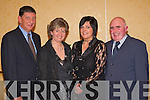 Ger Galvin, Kay Murphy, Mary O'Callaghan and Ger Murphy at the Glenflesk GAA social in the Dromhall Hotel, Killarney on Saturday night.    Copyright Kerry's Eye 2008