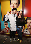 "George Salazar and guest attend then Broadway Family invite to The Final Dress Rehearsal Of Harvey Fierstein's ""Torch Song"" on October 8, 2018 at the Hayes Theatre in New York City."