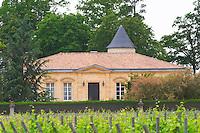 Chateau La Tour Figeac (latour) and vineyard Saint Emilion Bordeaux Gironde Aquitaine France