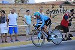 Manuele Boaro (ITA) Astana Pro Team in action during Stage 1 of La Vuelta 2019, a team time trial running 13.4km from Salinas de Torrevieja to Torrevieja, Spain. 24th August 2019.<br /> Picture: Eoin Clarke | Cyclefile<br /> <br /> All photos usage must carry mandatory copyright credit (© Cyclefile | Eoin Clarke)