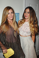 Suzie Hardy, Bretta Kuper==<br /> LAXART 5th Annual Garden Party Presented by Tory Burch==<br /> Private Residence, Beverly Hills, CA==<br /> August 3, 2014==<br /> ©LAXART==<br /> Photo: DAVID CROTTY/Laxart.com==