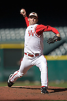 Relief pitcher Chris Wright #11 of the Houston Cougars in action versus the UC-Irvine Anteaters in the 2009 Houston College Classic at Minute Maid Park February 28, 2009 in Houston, TX.  The Anteaters defeated the Cougars 13-7. (Photo by Brian Westerholt / Four Seam Images)