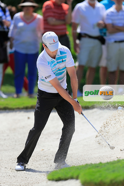 Zach Johnson (USA) during round 2 at the WGC Cadillac Championship, Blue Monster, Trump National Doral, Miami, Florida,USA.<br /> Picture: Fran Caffrey www.golffile.ie