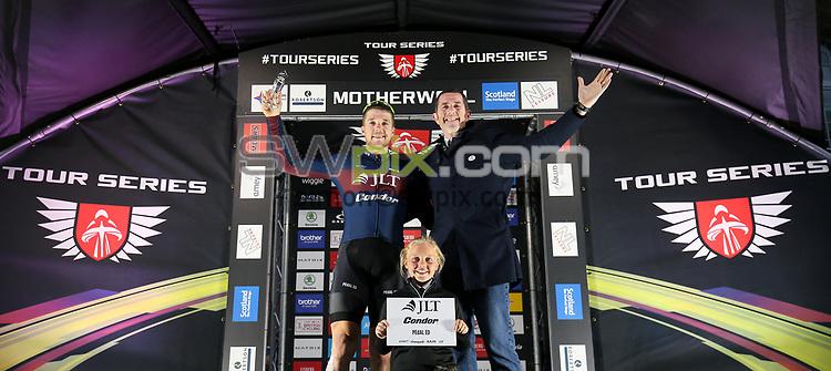 Picture by Alex Whitehead/SWpix.com - 23/05/2017 - Cycling - Tour Series Round 7, Motherwell - JLT Condor's Brenton Jones.