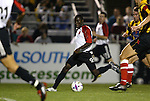 20 March 2004: Fourteen year old Freddy Adu (9) during the second half. DC United of Major League Soccer defeated the Charleston Battery of the A-League 2-1 at Blackbaud Stadium in Charleston, SC in a Carolina Challenge Cup match..