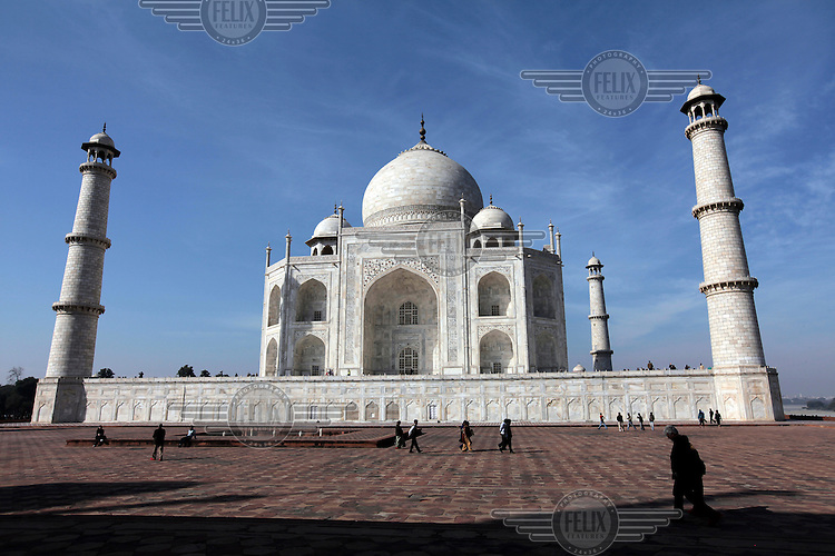 "The Taj Mahal , also ""the Taj"", is a mausoleum. It was built by Mughal emperor Shah Jahan in memory of his third wife, Mumtaz Mahal..Taj Mahal is an example of Mughal architecture, a style that combines elements from Persian, Islamic and Indian architectural styles..In 1983, the Taj Mahal became a UNESCO World Heritage Site."