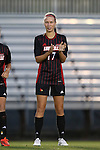 04 October 2014: Louisville's Inger Katrine Bjerke (NOR). The Duke University Blue Devils hosted the University of Louisville Cardinals at Koskinen Stadium in Durham, North Carolina in a 2014 NCAA Division I Women's Soccer match. The game ended in a 0-0 tie after double overtime.