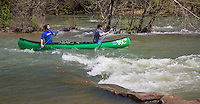 Floating the Buffalo National River in Arkansas.