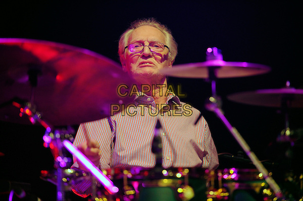 LONDON, ENGLAND - May 3: Ginger Baker(Peter Edward Baker) performs in concert at the Islington Academy on May 3, 2014 in London, England<br /> CAP/MAR<br /> &copy; Martin Harris/Capital Pictures
