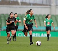 3rd November 2019; Aviva Stadium, Dublin, Leinster, Ireland; FAI Cup Womens Final Football, Peamount United versus Wexford Youth Womens Football Club; Louise Corrigan on an attacking run for Peamount United - Editorial Use