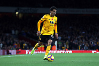 Helder Costa of Wolves during Arsenal vs Wolverhampton Wanderers, Premier League Football at the Emirates Stadium on 11th November 2018