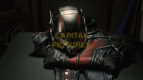 Ant-Man (2015) <br /> Ant-Man suit<br /> *Filmstill - Editorial Use Only*<br /> CAP/KFS<br /> Image supplied by Capital Pictures