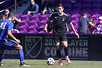 Orlando, Florida - Wednesday January 17, 2018: Brian White. Match Day 3 of the 2018 adidas MLS Player Combine was held Orlando City Stadium.