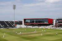 General view of play during Lancashire CCC vs Essex CCC, Specsavers County Championship Division 1 Cricket at Emirates Old Trafford on 11th June 2018