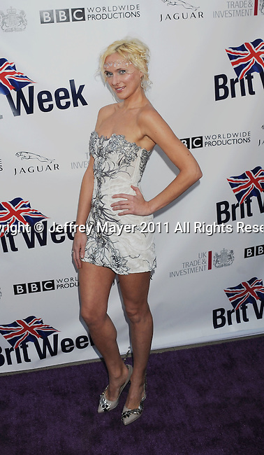 LOS ANGELES, CA - APRIL 26: Dominika Wolski attends the Champagne Launch Of 2011 BritWeek at British Consul General's Residence on April 26, 2011 in Los Angeles, California.