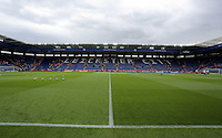 Pictured: Interior view of the stadium Saturday 27 August 2016<br />Re: Swansea City FC v Leicester City FC Premier League game at the King Power Stadium, Leicester, England, UK