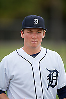 Detroit Tigers Jake Holton (64) during warmups before an Instructional League instrasquad game on September 20, 2019 at Tigertown in Lakeland, Florida.  (Mike Janes/Four Seam Images)