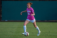 STANFORD, CA - OCTOBER 12: Beattie Goad #16 of the Stanford Cardinal during a game between the Stanford Cardinal and Washington Huskies women's soccer teams at Cagan Stadium on October 6, 2019 in Stanford, California. during a game between University of Washington and Stanford Soccer W at Laird Q. Cagan Stadium on October 12, 2019 in Stanford, California.