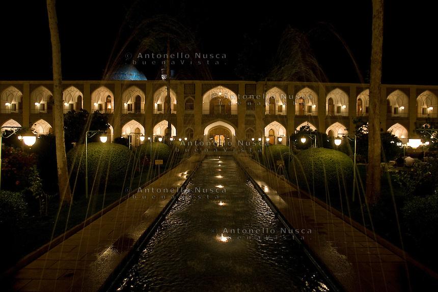 The Abbasi Hotel, once a large caravansary, in Isfahan, Iran May 4,  2007.
