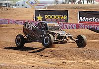 Apr 16, 2011; Surprise, AZ USA; LOORRS driver Steven Greinke (23) during round 3 at Speedworld Off Road Park. Mandatory Credit: Mark J. Rebilas-.