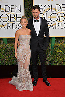 Chris Hemsworth &amp; Elsa Pataky at the 74th Golden Globe Awards  at The Beverly Hilton Hotel, Los Angeles USA 8th January  2017<br /> Picture: Paul Smith/Featureflash/SilverHub 0208 004 5359 sales@silverhubmedia.com