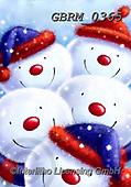 Roger, CHRISTMAS SANTA, SNOWMAN, WEIHNACHTSMÄNNER, SCHNEEMÄNNER, PAPÁ NOEL, MUÑECOS DE NIEVE, paintings+++++,GBRM0365,#x#