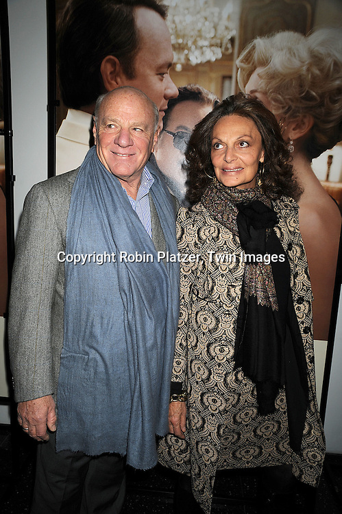 "Barry Diller and wife Diane Von Furstenberg.at The Special Screening of ""Charlie Wilson's War"" on December 16, 2007 at The Museum of Modern Art in New York. .Robin Platzer, Twin Images"