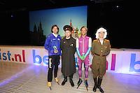 SCHAATSEN: ZAANDAM: 08-10-2013, Taets art Gallery, Perspresentatie Team Beslist.nl, Gerard van Velde (trainer/coach), Michel Mulder, ©foto Martin de Jong