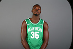 DENTON, TX - OCTOBER 17: North Texas Mean Green men's basketball on October 17, 2019 in Fort Worth, Texas. (Photo by Rick Yeatts/Getty Images)