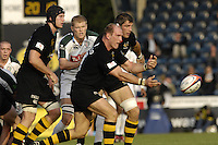 Wycombe, Great Britain,  Wasps, Lawrence DALLAGLIO, during the EDF Energy, Anglo Welsh, rugby Cup match, London Wasps vs London Irish,  at Adams Park, England, 08/10/2006. [Photo, Peter Spurrier/Intersport-images]....