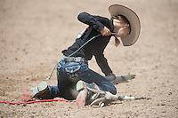 VHSRA - New Kent, VA - 6.10.2014 - Goat Tying