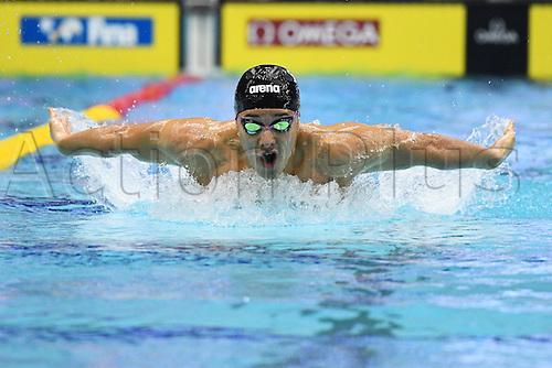 25.10.2016. Tokyo, Japan.  Daiya Seto (JPN), <br /> FINA Swimming World Cup Tokyo <br /> Men's 200m Butterfly Heat <br /> at Tatsumi International Swimming Pool, Tokyo, Japan.