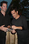 "Young & Restless Michael Muhney & Greg Rikaart ""Adam Newman & Kevin Fisher""  - Meet & Greet wine tasting event a part of the Soap Opera Festivals Weekend - ""All About The Drama"" on March 24, 2012 at Bally's Atlantic City, Atlantic City, New Jersey.  (Photo by Sue Coflin/Max Photos)"