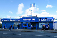 1st February 2020; St Andrews, Birmingham, Midlands, England; English Championship Football, Birmingham City versus Nottingham Forest; The Birmingham City fans shop before the game