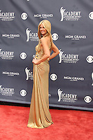 LAS VEGAS - APR 3:  Nancy O'Dell arriving at the Academy of Country Music Awards 2011 at MGM Grand Garden Arena on April 3, 2010 in Las Vegas, NV.