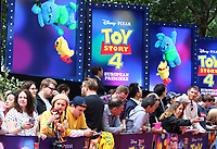 European Premiere of Toy Story 4 at Odeon Luxe, Leicester Square, London on June 16th 2019<br /> <br /> Photo by Keith Mayhew