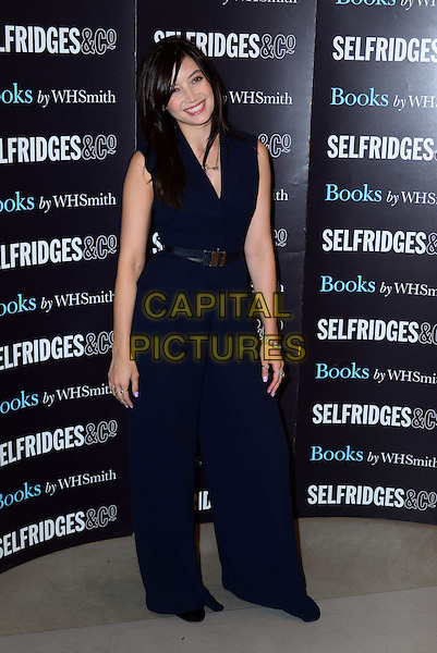 LONDON, ENGLAND - JULY 3: British model Daisy Lowe signs copies of her debut cookbook Sweetness and Light, at Selfridges, 400 Oxford Street, on July 3, 2014, in London, England.<br /> CAP/JOR<br /> &copy;Nils Jorgensen/Capital Pictures