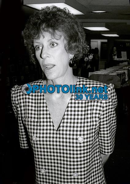 Carol Burnett 1986<br /> Photo By John Barrett/PHOTOlink