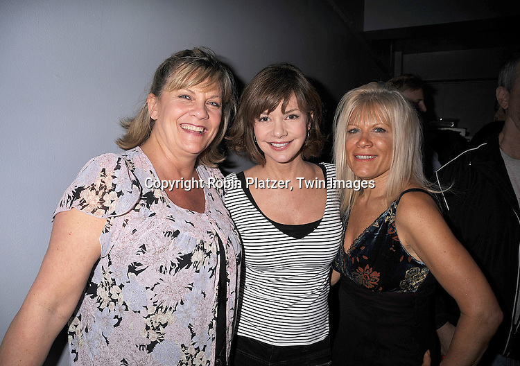 "Kim Zimmer, Bobbie Eakes and Ilene Kristen..at the after party for the play reading of ""Laugh Lines"" ..written by Penny Bergman and starring Kim Zimmer, Marj Dusay, of Guiding Light, Ilene Kristen, of One Life to Live, Bobbie Eakes and Melissa Claire Egan of All My Children on ..May 10, 2008 at The Chashama Theatre in New York City. ....Robin Platzer, Twin Images"
