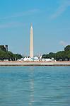 Washington Monument, Capitol Reflecting Pool, National Mall, Washington DC