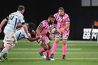 Waimea Vuidravuwalu of Stade Francais and Willem Schalk Alberts of Stade Francais during the Top 14 match between Racing 92 and Stade francais at Paris La Defense Arena on May 5, 2019 in Nanterre, France. (Photo by Anthony Dibon/Icon Sport)