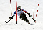 March 4, 2012: Gerald Hayden competes in the World Disabled Ski Invitational Championships, Winter Park, Colorado.