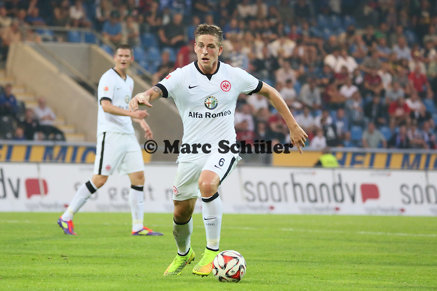 Bastian Oczipka (Eintracht)- FSV Frankfurt vs. Eintracht Frankfurt, Frankfurter Volksbank Stadion